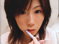 星野優奈ブルセラ見学♪一般客にフェラサービス☆(無料AV動画)