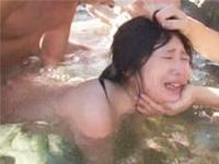 混浴温泉でヤリまくれっ! クリやマンコをベロベロン![無修正][1]